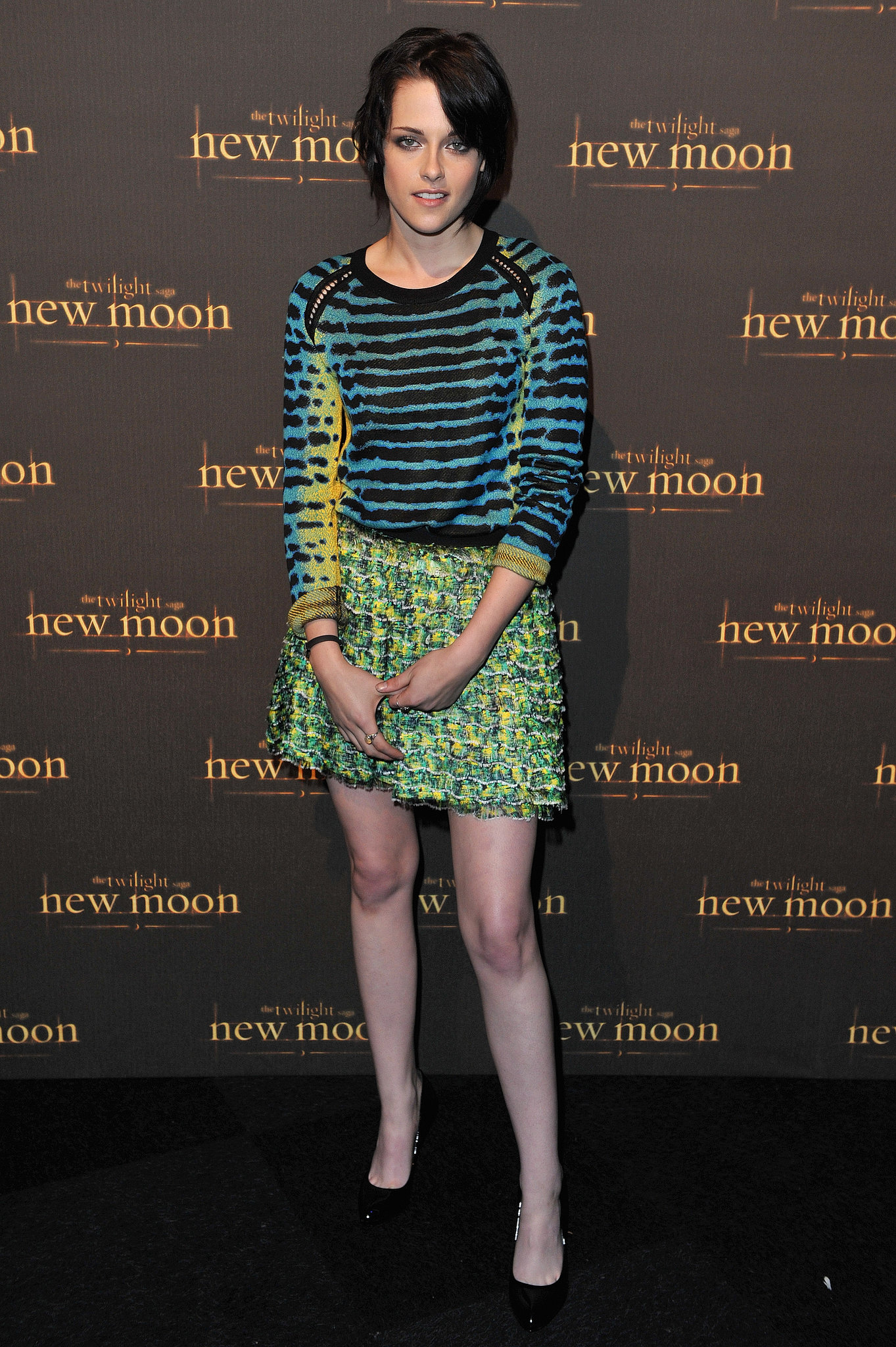 A bright Proenza Schouler pairing hit a fashion home run during a fan event for New Moon in London in November 2009.