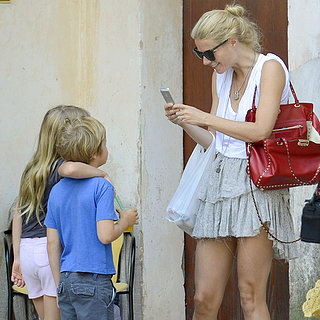 Gwyneth Paltrow and Chris Martin on Vacation in Spain