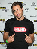 Zachary Levi showed off his nerdiness during day three of the convention in 2010.