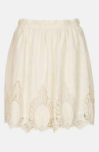Topshop Doily Lace Skirt