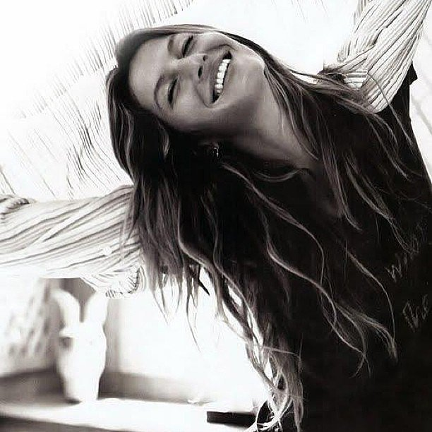 Gisele Bündchen has a lot to smile about, especially how good she looks in this casual shot. Source: Instagram user giseleofficial