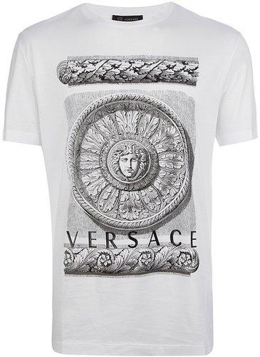 Versace 'Rose Window Medusa' t-shirt