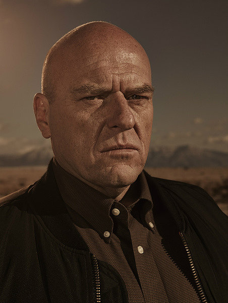 Dean Norris as Hank Schrader.