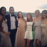 Jessica Alba attended a friend's wedding by the water. Source: Instagram user jessicaalba