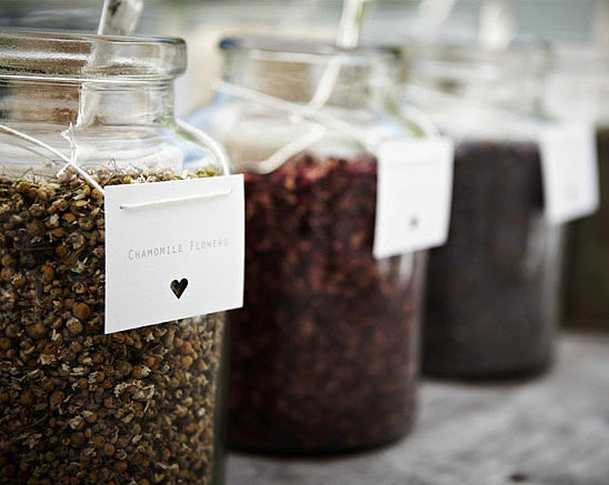 Make Your Own Tea Bar