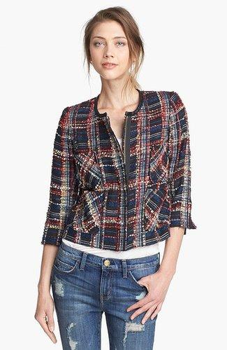 Smythe Plaid Boucle Jacket