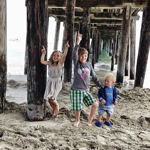 """Gone coastal!"" Source: Instagram user mommasgonecity"