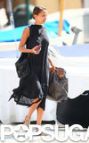Nicole Richie did some shopping while on vacation in Portofino, Italy.
