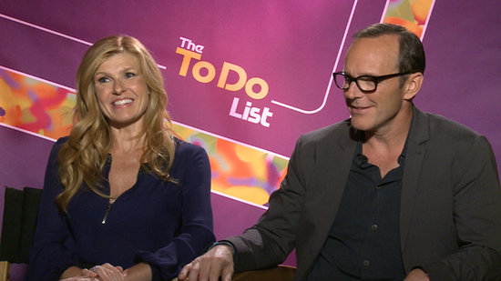 "Connie Britton and Clark Gregg on Their Sex Scene: ""We Both Threw Our Backs Out"""