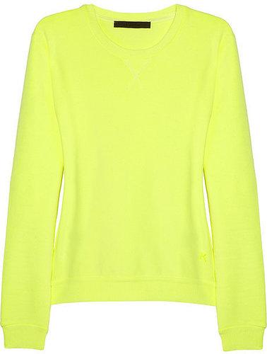 Karl Lagerfeld Neon cotton-jersey sweatshirt