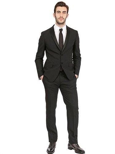 Tonello - Tuxedo Slim Collar Stretch Faille Suit