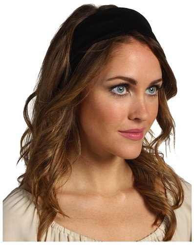 Jane Tran - Cotton Bandeau Knot Turban Style Headband (Black) - Accessories
