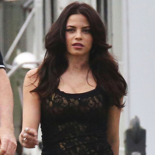 Jenna Dewan on Witches of East End Set | Pictures