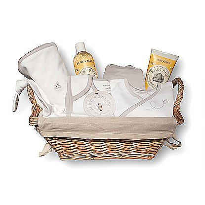 The Pima Gift Basket ($100) is an exceptional value, with a kimono top, footed pant, blanket, knot top hat, bib, shampoo-wash and fragrance-free lotion all in a beautifully lined, ready-to-gift basket.