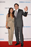 Vanessa Hudgens and Nicolas Cage fronted up to represent their new film, The Frozen Ground, at the premiere in London on July 17.