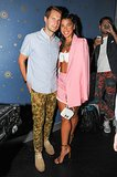 Hannah Bronfman joined Brendan Fallis to toast to her Kaelen collaboration.