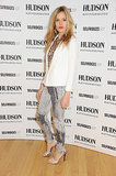 Georgia May Jagger launched her Fall Hudson Jeans campaign in a fittingly denim-centric ensemble.