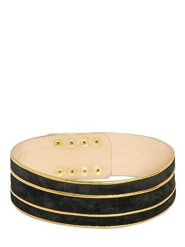 60mm Suede High Waisted Belt