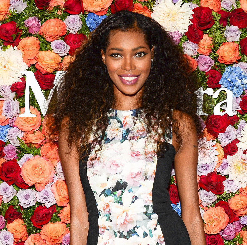 Jessica White tried on one of the biggest trends of the Summer: the braid. She twisted up her bangs and tucked them behind her ear, leaving the rest of her hair in casual curls.