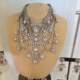 Can you imagine wearing this stunning Dannijo necklace out? So glamorous!