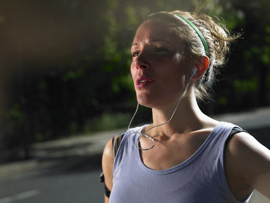 how to make your face not turn red when exercising