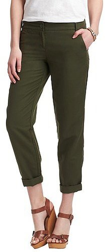 Tall Marisa Linen Cotton Cropped Weekender Chinos