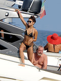 Bikini-Clad Vanessa Hudgens Vegges Out in Italy