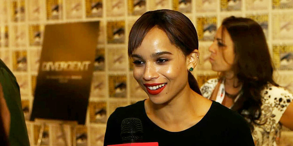 "Zoë Kravitz's Dauntless Tattoo Would Say ""Go Easy on Me"""