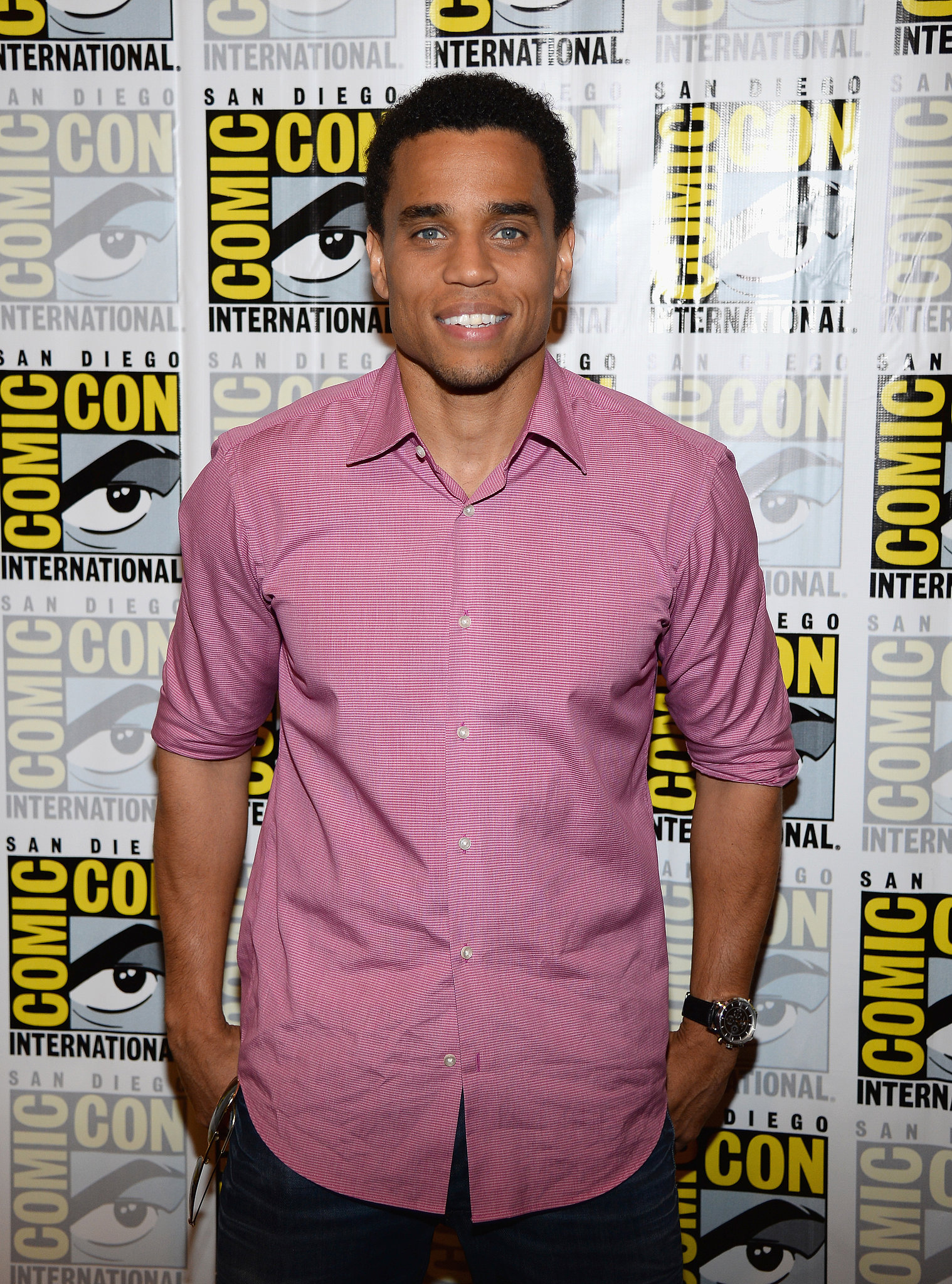 Michael Ealy was in attendance at the press room for Almost Human.