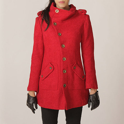 FM908 Military Jacket Red