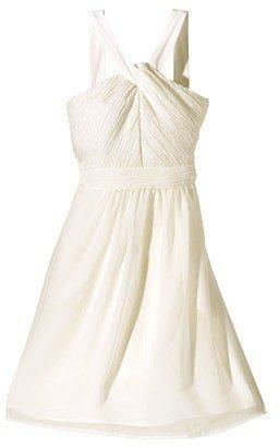 TEVOLIOTM  Women's Halter Neck Chiffon Dress  - Neutral Colors