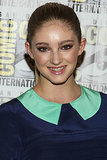 Willow Shields attended the Catching Fire panel in San Diego.