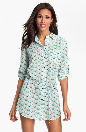 Tory Burch 'Sanibel' Drawstring Cover-Up