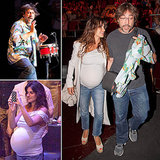 Pregnant Penélope Cruz Snaps Sweet Photos of Her Bongo-Playing Hubby