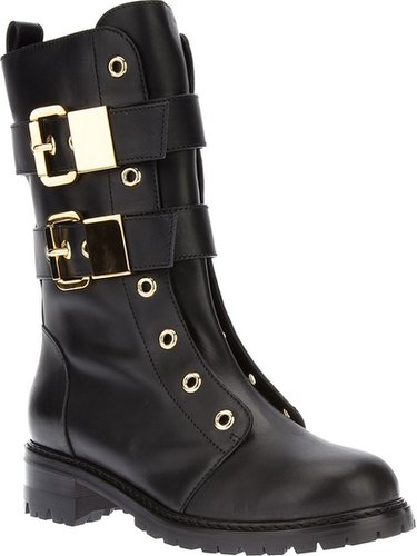 Giuseppe Zanotti Design lace-less buckle boot