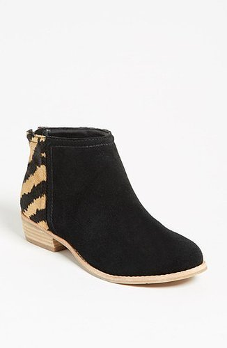 DV by Dolce Vita 'Mani' Boot Womens Black/ Tan Size 6 M 6 M
