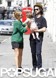 Sienna Walks Off Marlowe's Tears in London