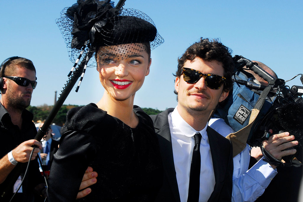 Orlando joined Miranda for Emirates Doncaster Day in Sydney in April 2008.