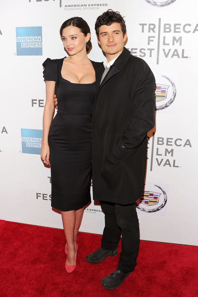 Miranda proves you can't go wrong in a little black dress at the 2011 Tribeca Film Festival.