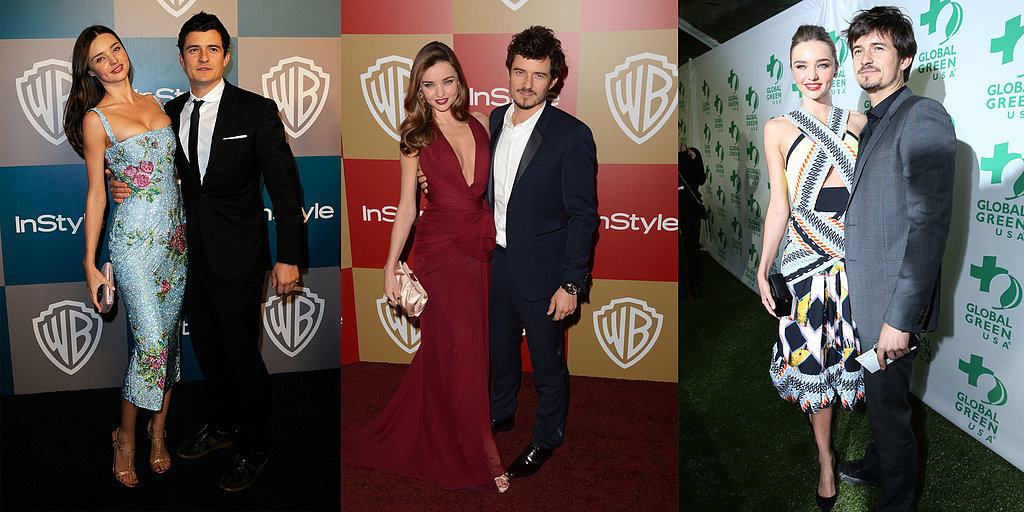 Miranda and Orlando's Most Stylish Moments