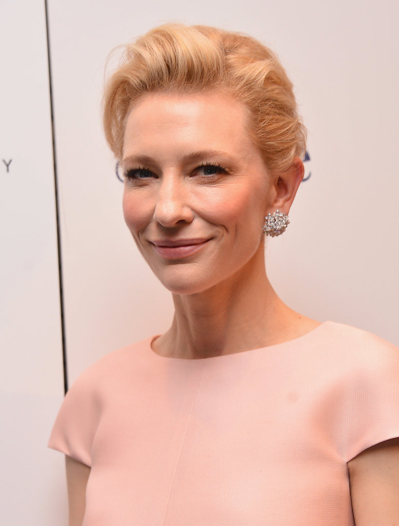 Cate Blanchett made an elegant appearance at the NYC premiere of Blue Jasmine.