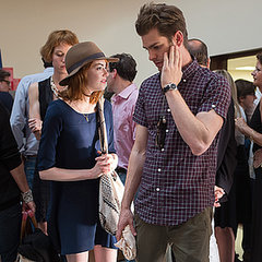 Emma Stone and Andrew Garfield at Woody Allen's Concert