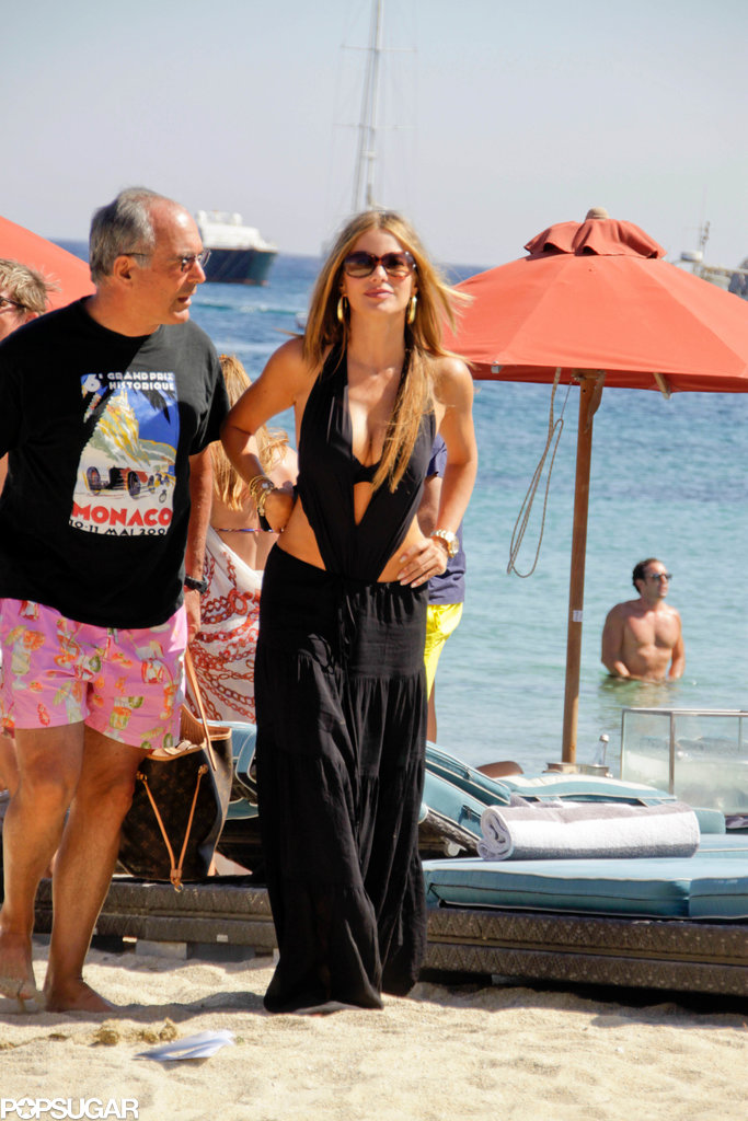 Sofia Vergara Mixes It Up in Greece