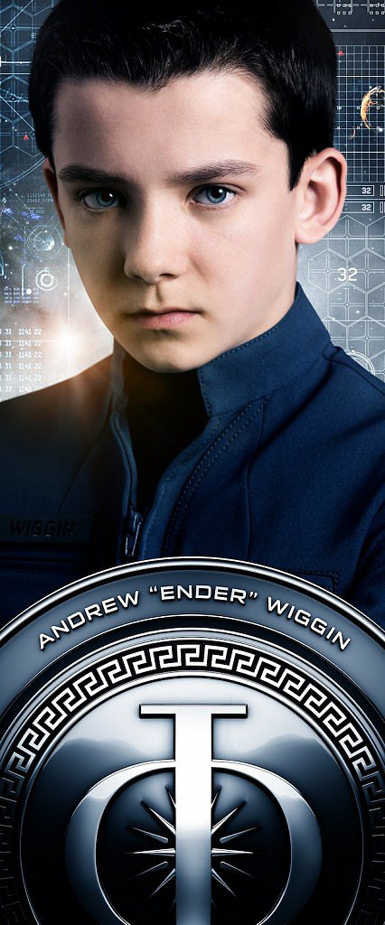 Asa Butterfield as Ender Wiggin.