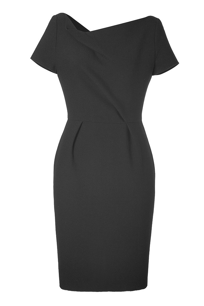 A little black dress fit for a duchess? Tara Jarmon's black wool option ($430) is beyond sophisticated.