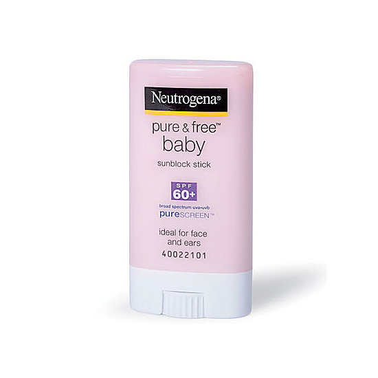 Hypoallergenic and water-resistant, Neutrogena Pure and Free Sunscreen Stick ($9) is great for a day at the beach —no matter your age.