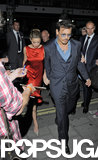 Johnny Depp and Amber Heard Show Love in London Following His UK Premiere