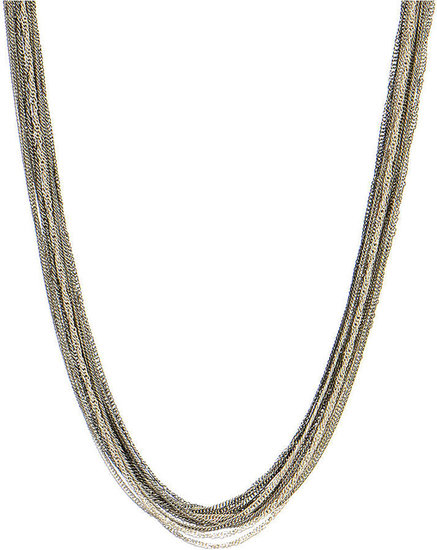 Kenneth Cole New York Necklace, Multi Tone Long Strand Necklace