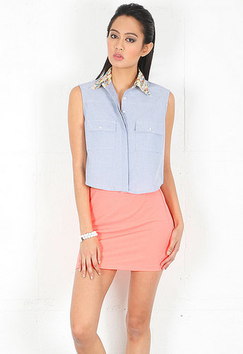 Civil Clothing The Midtown Button Up in Oxford Blue