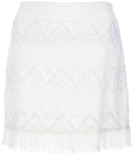 Alice+Olivia sequin mini skirt